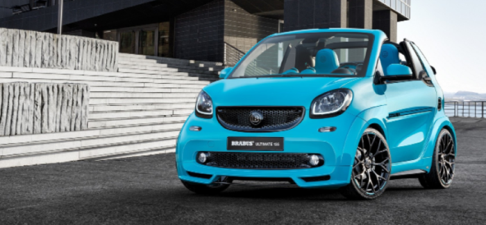 125HP Tuned Smart Fortwo Cabrio ULTIMATE 125 By Brabus