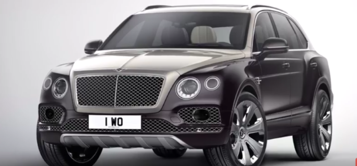 2017 Bentley Bentayga Mulliner – Video