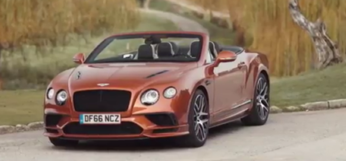 2017 Bentley Continental Supersports Coupe & Convertible – Video