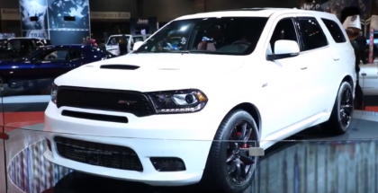 2017 Dodge Durango SRT Overview (1)