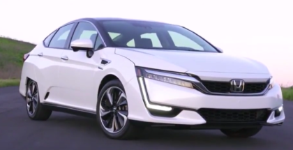 2017 Honda Clarity Fuel Cell Walk Around, Interior, Test Drive (1)