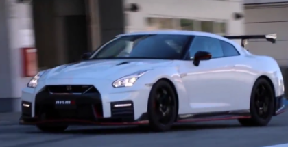 2017 Nissan GTR NISMO N Attack Package Racetrack Test Drive (1)