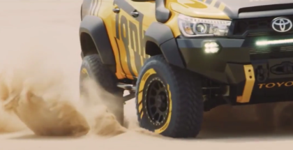 2017 Toyota HiLux Tonka Concept Off Roading