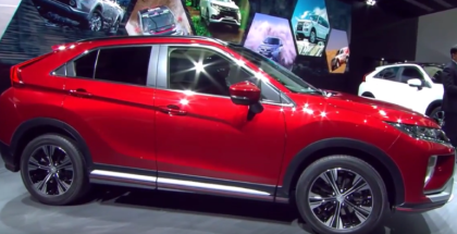 2018 Mitsubishi Eclipse Cross Unveiling