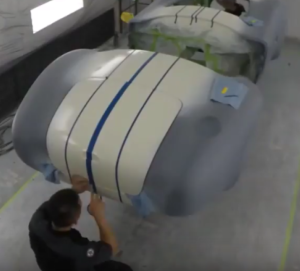 427 Shelby Cobra Roadster In Paint Booth (2)
