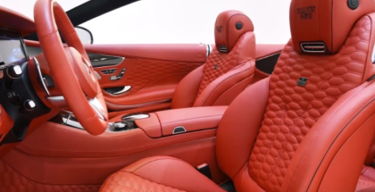 850PS Brabus 850 Convertible - Mercedes S63 AMG (1)