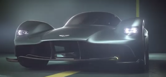 AM-RB 001 Officially Named Aston Martin Valkyrie