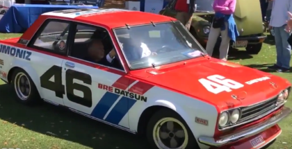 Amelia Island Award Is Given To The BRE Datsun 510 (1)