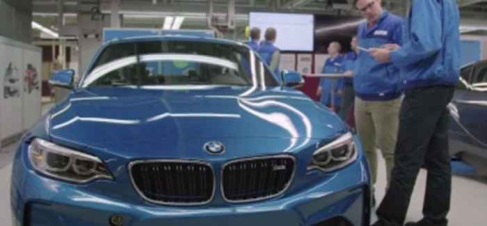 Bmw Factory Humans Robots Work Together At Dingolfing Leipzig Plant Video Dpccars