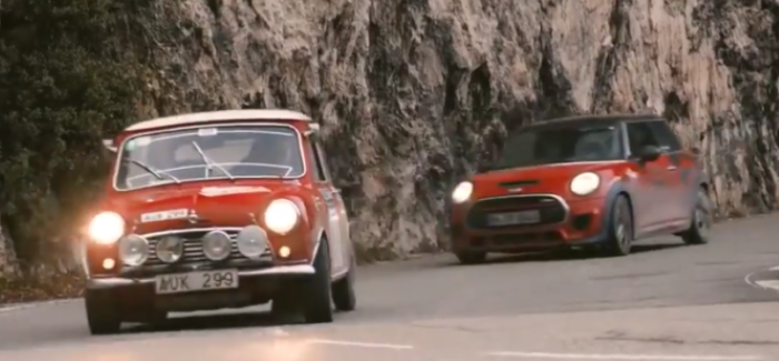 Classic Mini John Cooper Works Rallye Monte Carlo Historique With Rauno Aaltonen – Video