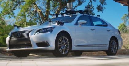First Autonomous Test Vehicle Developed by Toyota