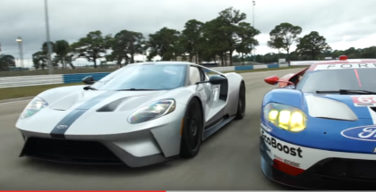 Ford GT Competition Series Meets Race Car