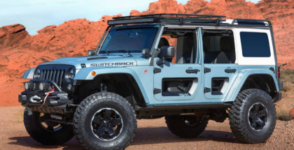 Jeep Concept Vehicles for 51st Annual Moab Easter Jeep Safari
