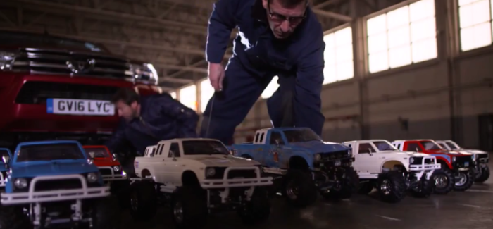 Making Of Toyota Hilux Truck vs Tamiya RC Hilux – Video