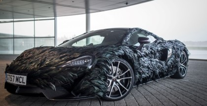 McLaren 570GT with Feather Wrap