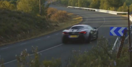 McLaren 570S Exhaust Sound and Drive