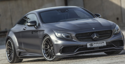 Mercedes S-Class Coupe PD75SC Widebody By Prior Design