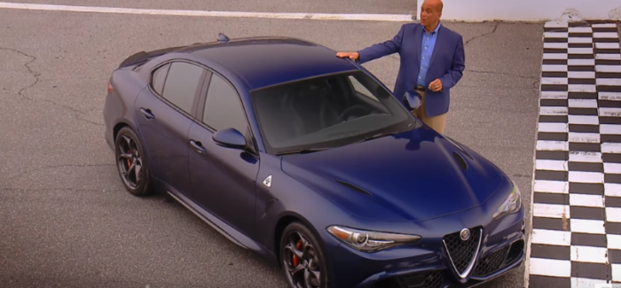 Motorweek 2017 Alfa Romeo Giulia Quadrifoglio Review – Video