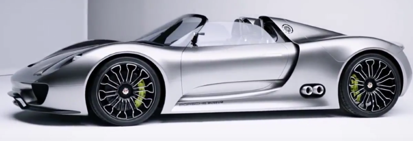 porsche 918 spyder concept video dpccars. Black Bedroom Furniture Sets. Home Design Ideas
