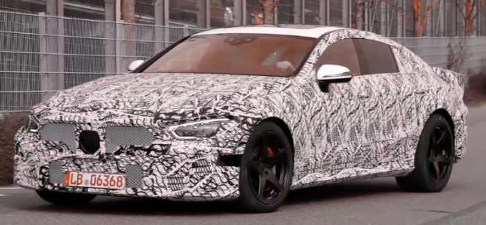 Production Mercedes AMG GT Sedan Spied – Video