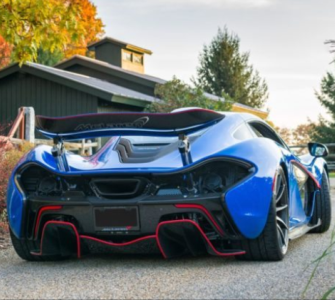 professor 2 blue mclaren p1 sold for $2.39 million | dpccars