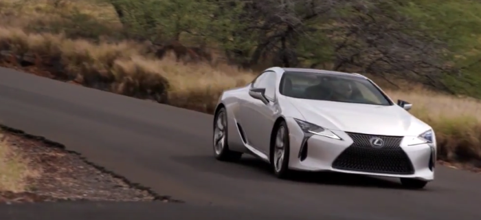 Silver 2018 Lexus LC500 Drive, Interior, Walk Around – Video