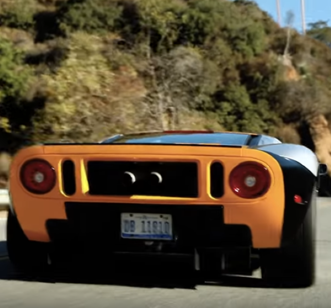 The Ford Gt Designer Drives A Ford Gt