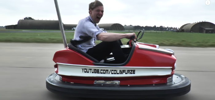 The Stig Drives The World's Fastest Bumper Car – Video