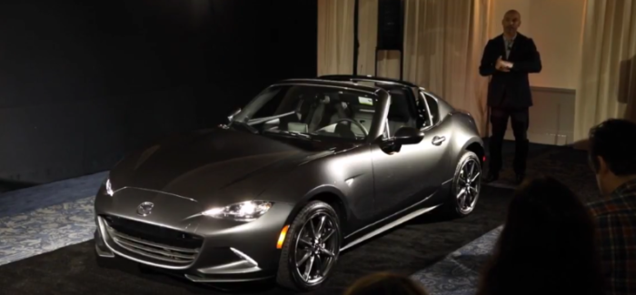 US Spec 2017 Mazda MX-5 RF Presentation – Video