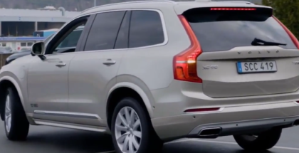 Volvo XC90 Self Parking Car Demonstration (1)