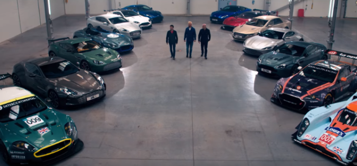 £65 million worth of Aston Martins – Video