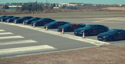 10 Tuned Supercars and Sports Cars Drag Race (1)
