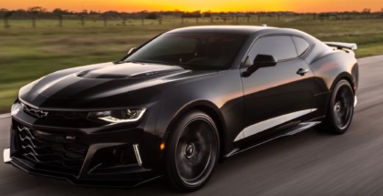 1000HP Camaro ZL1 Named EXORCIST by Hennessey