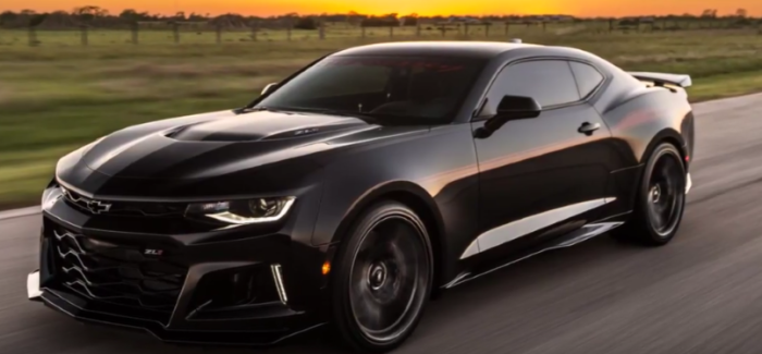 1000HP Camaro ZL1 Named EXORCIST by Hennessey – Video