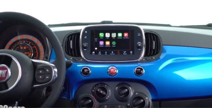 2017 Fiat 500 Mirror Edition Apple CarPlay & Android Functions (1)