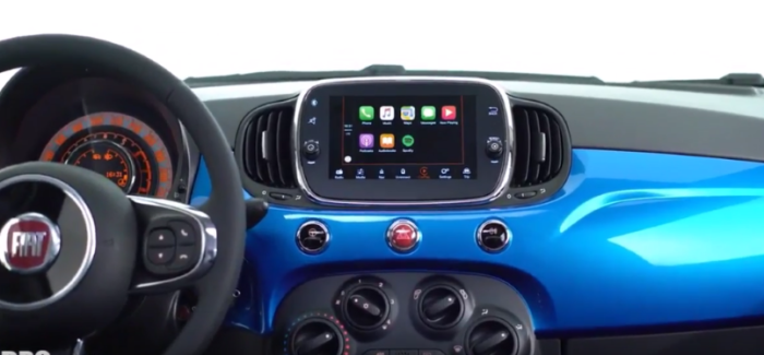 2017 Fiat 500 Mirror Edition Apple CarPlay & Android Functions – Video