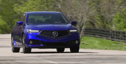 2018 Acura TLX V6 A-Spec & Advance Package