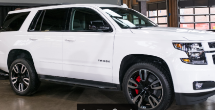 2018 Chevy Tahoe & Suburban RST Special Edition Unveiling