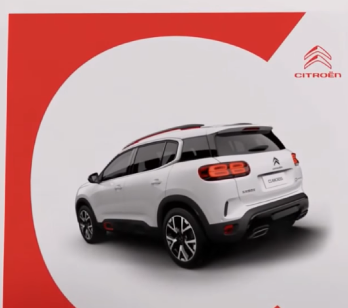 2018 Citroen C5 Aircross Progressive Hydraulic Suspension Hill