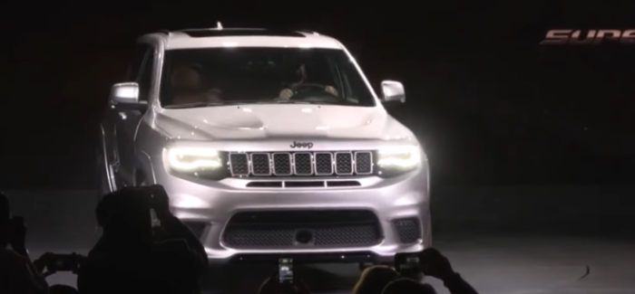 2018 Jeep Grand Cherokee Trackhawk Introduction – Video