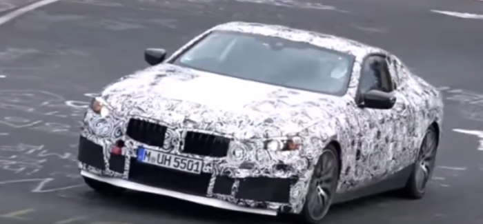 2019 BMW 8 Series Spied  Video  DPCcars