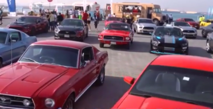 53rd Anniversary Of Ford Mustang In Dubai (1)