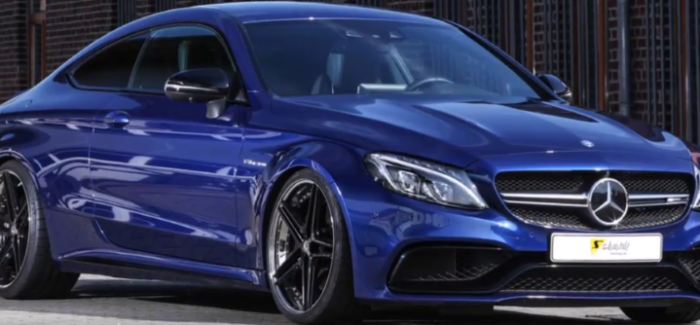 572HP Mercedes AMG C63 Coupe By Schmidt