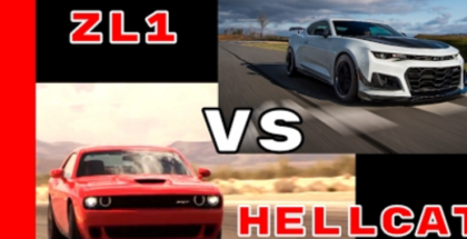 650HP Camaro ZL1 1LE vs 707HP Dodge Challenger Hellcat Engine & Exhaust Sound (1)