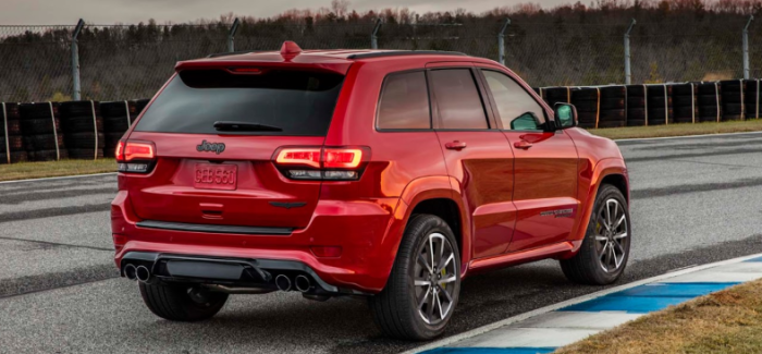 707HP 2018 Jeep Grand Cherokee Trackhawk First Official Photos (1)