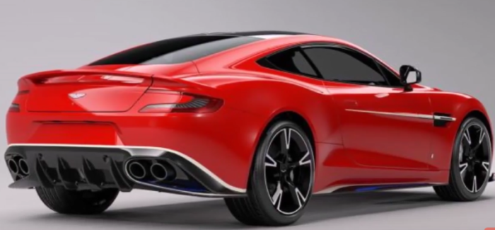 Aston Martin Vanquish S Red Arrows Edition – Video