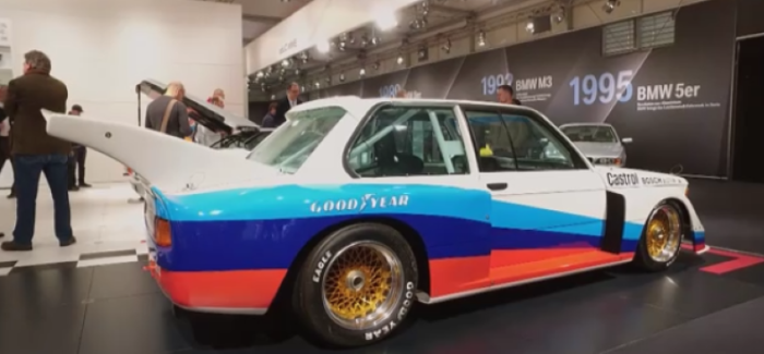 BMW Group Classica at the Techno Classica 2017 – Video