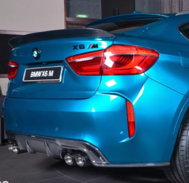 Bmw X6m Horsepower: BMW X6M M Performance Package