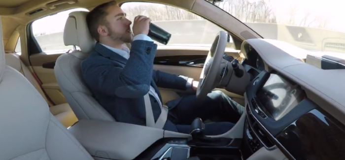 Cadillac Super Cruise Hands Free Highway Driving – Video