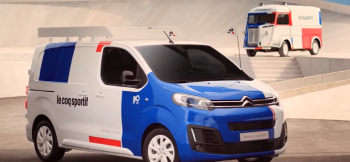Citroen Type-H Le Coq Sportif 70th Anniversary – Video